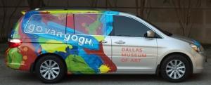 The Go van Gogh van