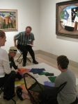 participating in a Creativity Challenge in the Americangalleries