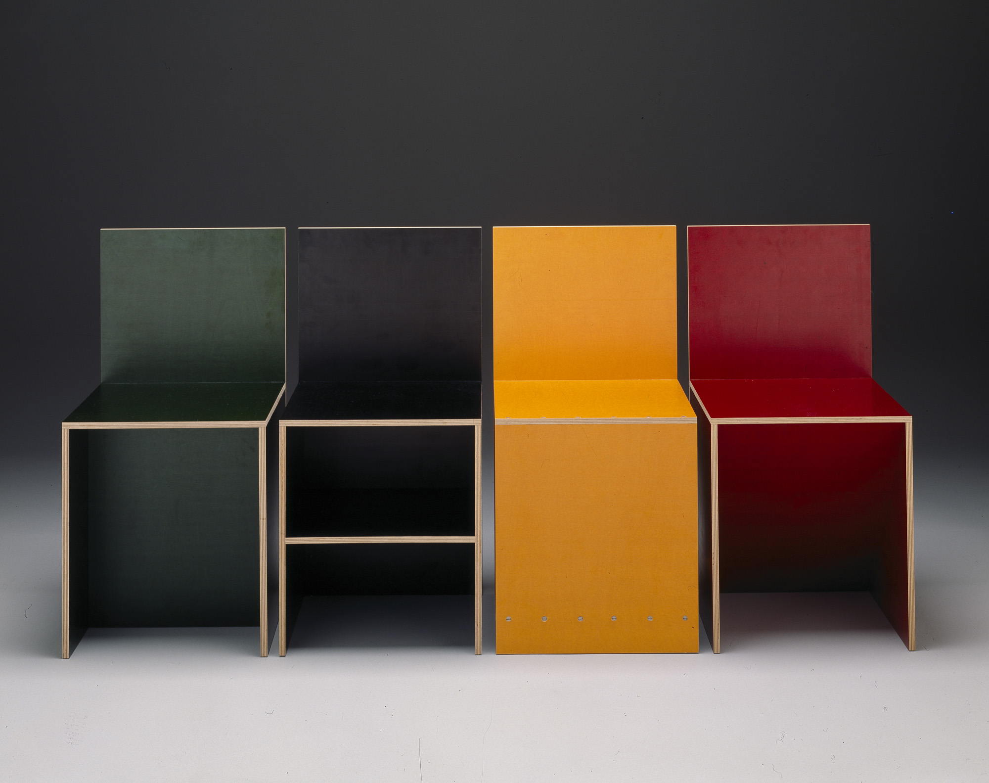 Form/Unformed: Goldilocks And The Chairs » Plywood Chair