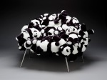 Banquete chair withpandas