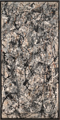 Jackson Pollock, Cathedral, 1947, Dallas Museum of Art, gift of Mr. and Mrs. Bernard J. Reis, © Pollock-Krasner Foundation / Artists Rights Society (ARS), New York