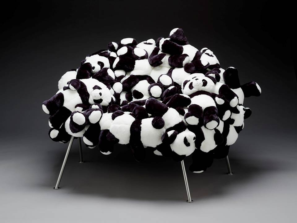 Banquete Chair With Pandas, Fernando Campana And Humberto Campana, 2006,  Stuffed Animals On Steel Base, Dallas Museum Of Art, DMA/amfAR Benefit  Auction Fund ... Amazing Pictures