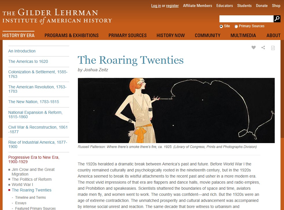 prohibition in the roaring twenties essay