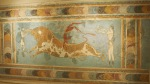 Bull Leaping Fresco from Knossos, Archaeological Museum, Heraklion