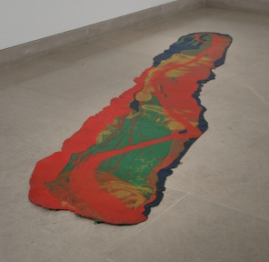 Lynda Benglis, Odalisque (Hey, Hey Frankenthaler), 1969, Dallas Museum of Art, DMA/amfAR Benefit Auction Fund