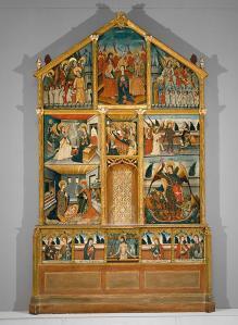 Studio of Pere Espalargues, Altarpiece, second half of 15th century, Dallas Museum of Art, gift of Leicester Busch Faust and Audrey Faust Wallace in memory of Anna Busch Faust and Edward A. Faust.