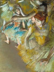 Edgar Degas, Ballet Dancers on the Stage, 1883, Dallas Museum of Art, gift of Mr. and Mrs. Franklin B. Bartholow.