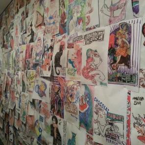 Final closeup of the full wall