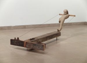Mark Manders, Composition with Three New Piles of Sand, 2010, Dallas Museum of Art, DMA/amfAR Benefit Auction Fund