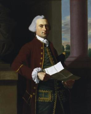 John Singleton Copley, Woodbury Langdon, 1767, Dallas Museum of Art, The Eugene and Margaret McDermott Art Fund, Inc.