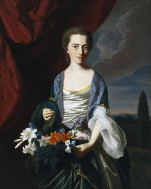 John Singleton Copley, Sarah Sherburne Langdon, 1767, Dallas Museum of Art, The Eugene and Margaret McDermott Art Fund, Inc.