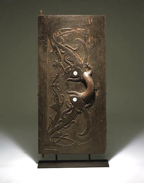 Door with protective symbols, c. 1850-1900, Indonesia, Dallas Museum of Art, The Roberta Coke Camp Fund, 1997.111