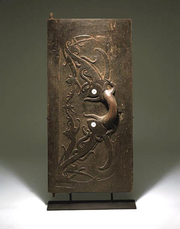 Door with protective symbols, c. 1850-1900, Indonesia, Dallas Museum of Art, The Roberta Coke Camp Fund, 1997.111