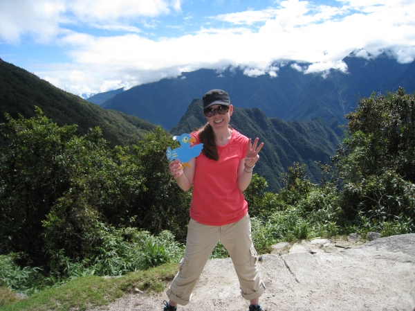 On Day 3 of the Inca Trail