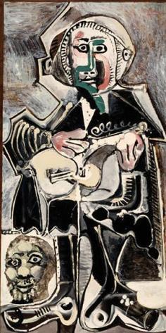 Pablo Picasso, The Guitarist, 1965, Dallas Museum of Art, The Art Museum League Fund
