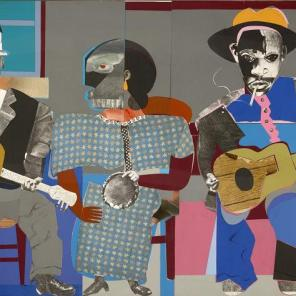 Soul Three, Romare Bearden, 1968, Dallas Museum of Art, General Acquisitions Fund and Roberta Coke Camp Fund