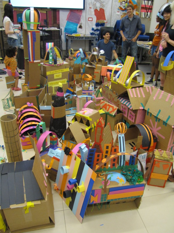 Life size recreation of our city!