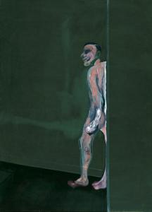 Francis Bacon, Walking Figure, 1959-1960, Dallas Museum of Art, Foundation for the Arts Collection, gift of Mr. and Mrs. J.O. Lambert, Jr. and Mr. and Mrs. David Garrison