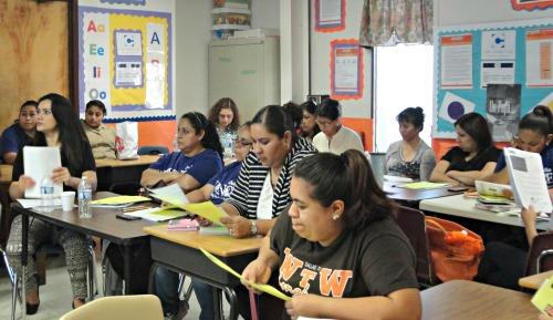 AVANCE members learn about free DMA programs.