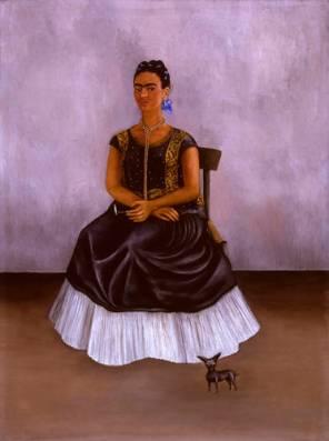 Frida Kahlo, Itzcuintli Dog with Me, 1938