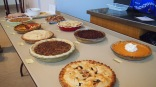 amazing assortment of pie
