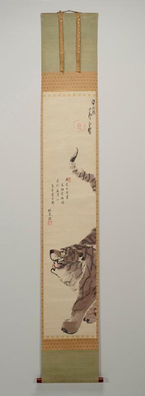 """""""Tiger,"""" Nagasawa Rosetsu, after 1792"""
