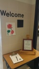 Sign-in and welcome