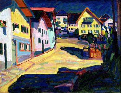 Wassily Kandinsky, Murnau, Burggrabenstrasse 1, 1908, 1908