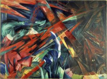 Franz Marc, Fate of the Animals, 1913 (Basle, Kunstmuseum)