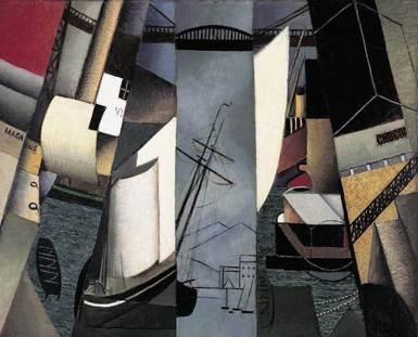 Jean Metzinger, The Harbor (Le Port), 1912