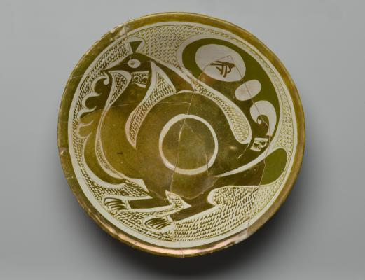 9th-10th century, Iraq, luster-painted, Brooklyn Museum, Gift of the Ernest Erickson Foundation, Inc., Brooklyn, USA