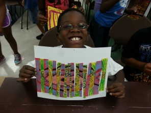 Go van Gogh at Willie Johnson Recreation Center