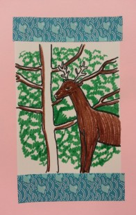 deer art activity