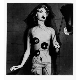 Gaston Paris - Photograph of Sonia Mosse mannequin from International Surrealist Exhibition - 1938