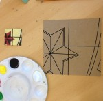 Draw the image on your cardboard