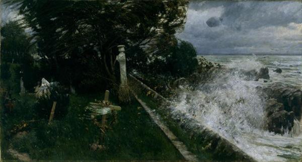 seaside cemetery