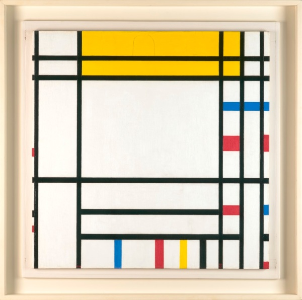 Piet Mondrian, Place de la Concorde, 1938-1943, Dallas Museum of Art, Foundation for the Arts Collection, gift of the James H. and Lillian Clark Foundation