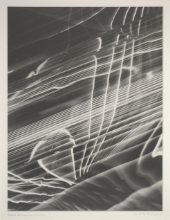 Carlotta M. Carpron, Winds Between the Worlds, negative c. 1945, print 1977, Dallas Museum of Art Polaroid Foundation grant
