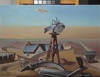 Alexander Hogue, Drouth Stricken Area, 1934, Dallas Museum of Art, Dallas Art Association Purchase