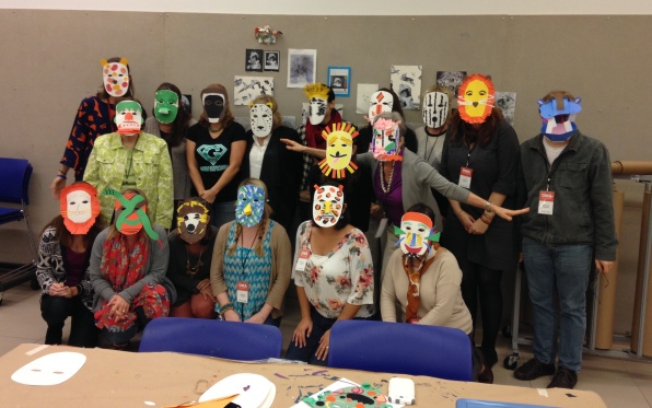 """Go van Gogh volunteers during the training for our """"Into the Wild"""" program!"""