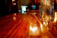 Glass and Table