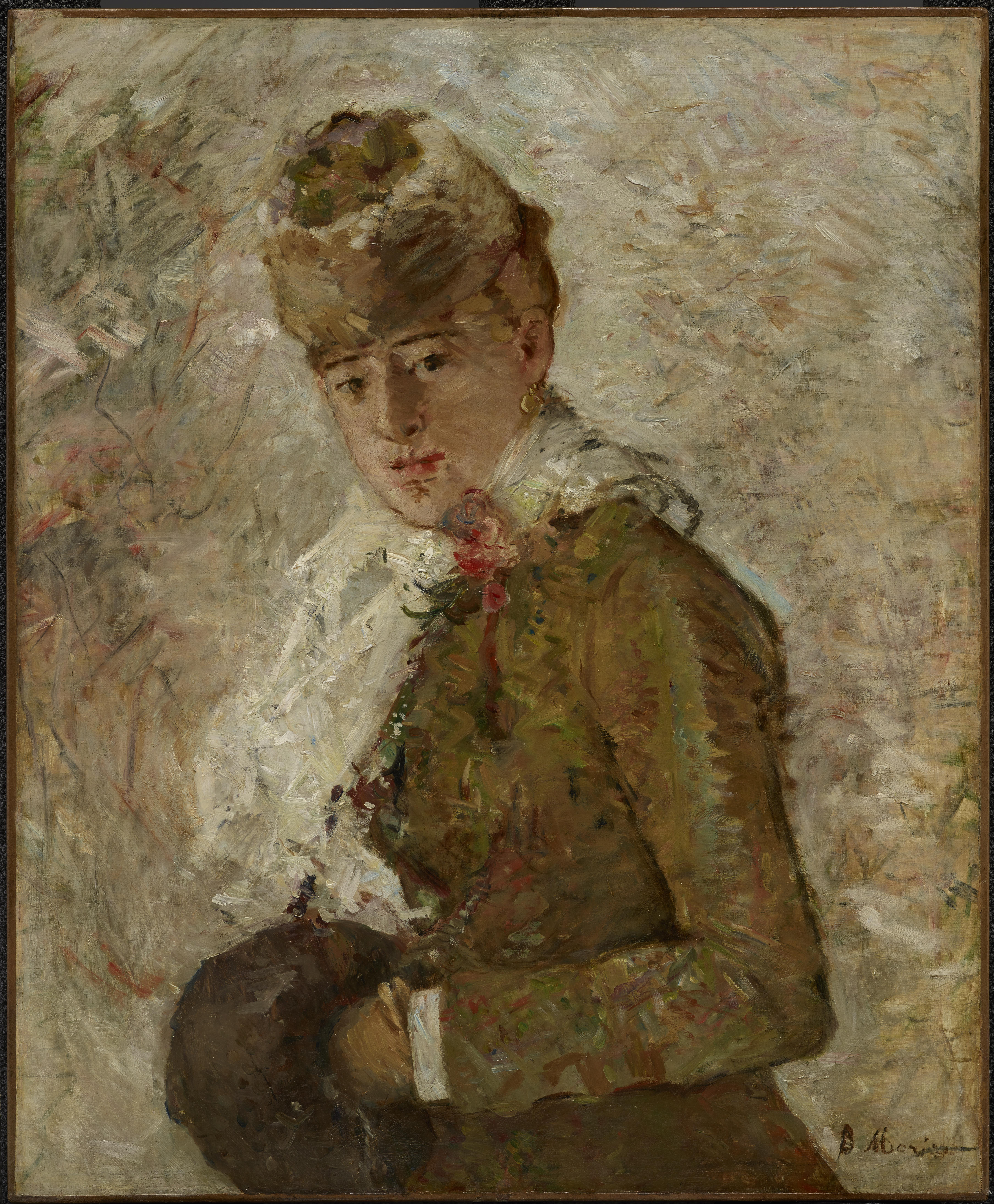 Berthe Morisot In The Dining Room 708319181333023 Original Dma Canvas