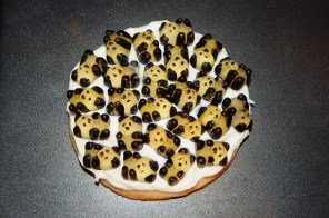 Panda cookie made by Stacey Lizotte