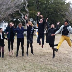 Jumping at the Kimbell