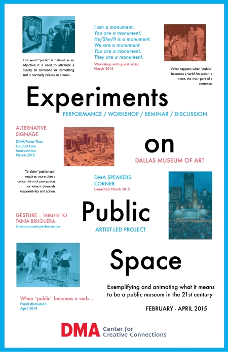 Experiments on Public Space