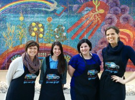 Go van Gogh ladies: Danielle, Liz, Jennie, & Amy