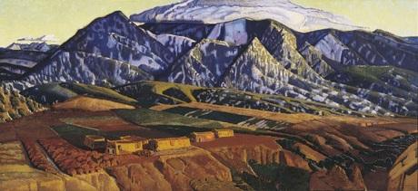 Mountains Near Taos, Ernest Blumenschein, 1926-34, Dallas Museum of Art, gift of Helen Blumenschein, 1960.145