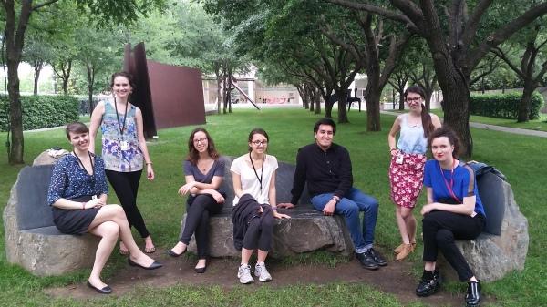 Visiting the Nasher Sculpture Center Garden