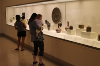 Exploring Japanese art in the gallery