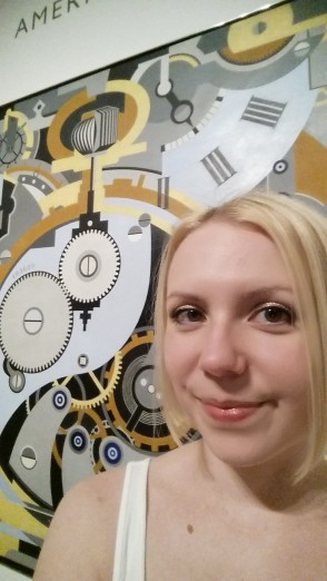 Sarah loves Murphy's graphic take on a watch.